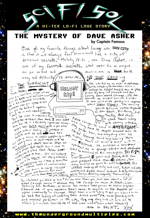 Mystery of DAVE ASHER XOX
