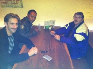 (l-r) Tyler Pistorius, Maxwell Mattison, Ralph Kipniss