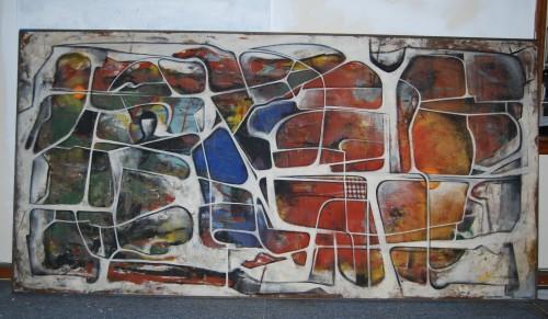 Paintscape no. 15: Punctum Contra Punctum