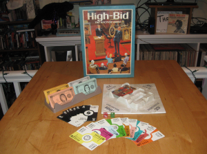High-Bid, the fast-paced auction game